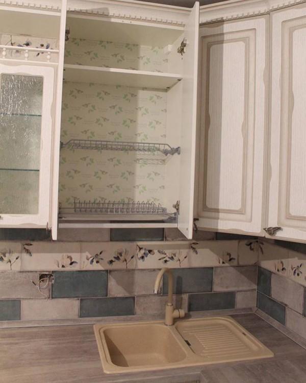 Кухня из крашеного МДФ №73
