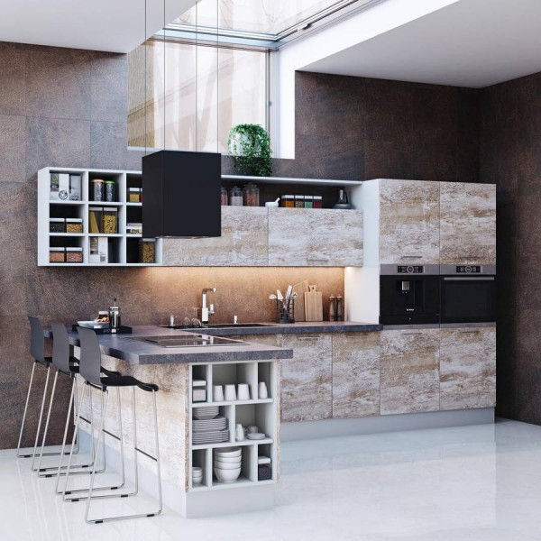 Кухня из ЛДСП №91