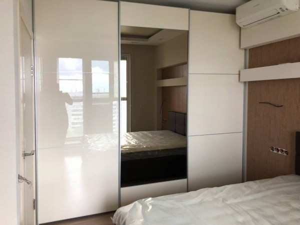 Встроенный шкаф-купе № 130