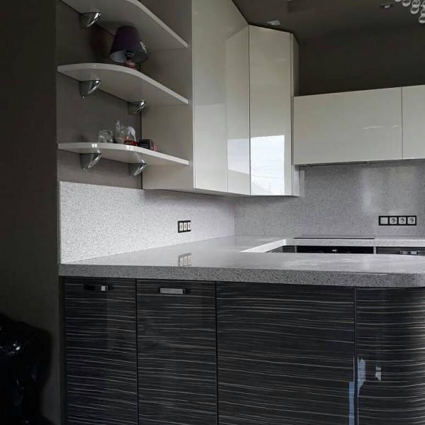 Кухня из пластика №139