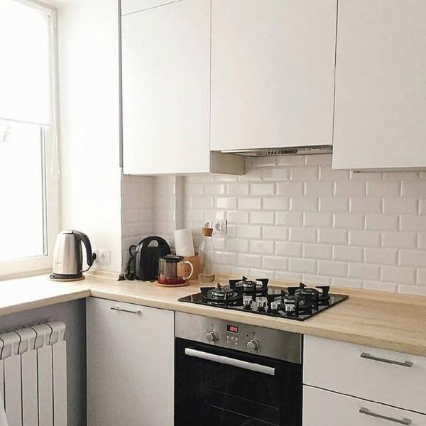 Кухня из пластика №137