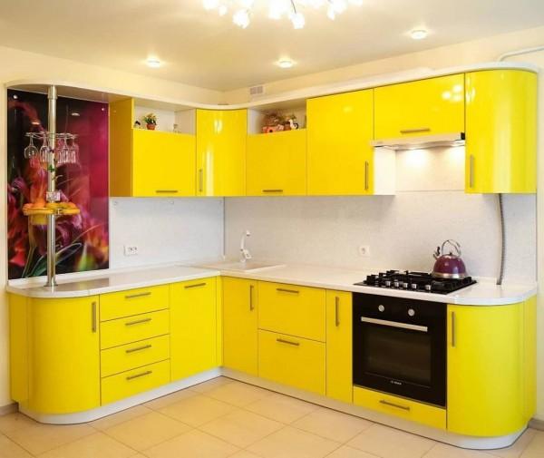 Кухня из пластика №142