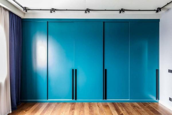 Встроенный шкаф-купе № 118