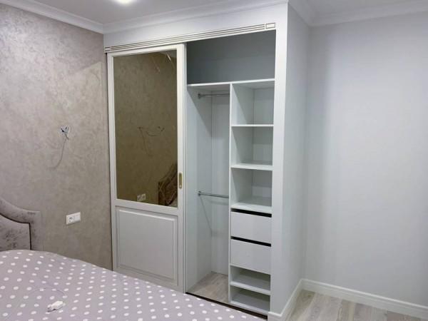 Встроенный шкаф-купе № 129
