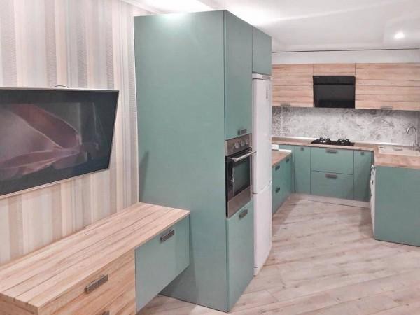 Кухня из пластика №136