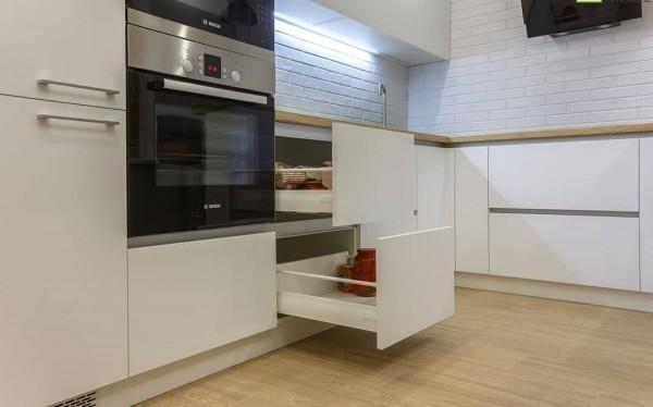 Кухня из пластика Феникс №115