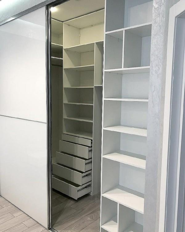 Шкаф-купе в спальню № 165