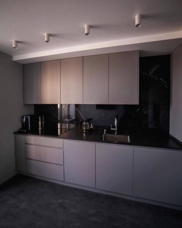 Кухня из пластика Феникс №116