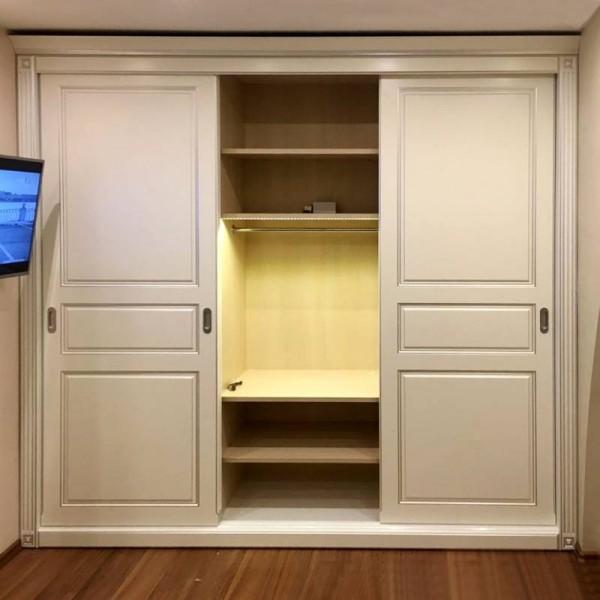 Встроенный шкаф-купе № 137