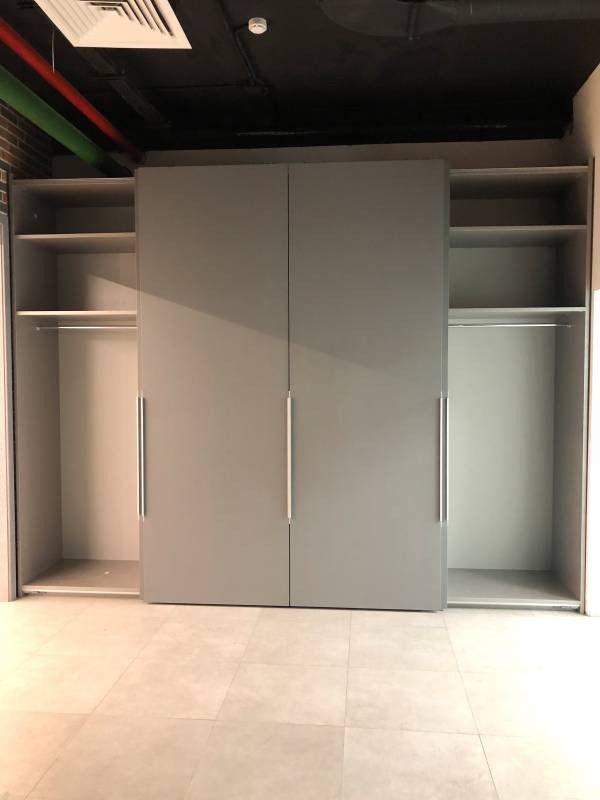 Встроенный шкаф-купе № 133