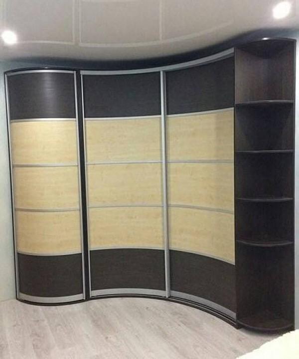 Радиусный шкаф-купе №21