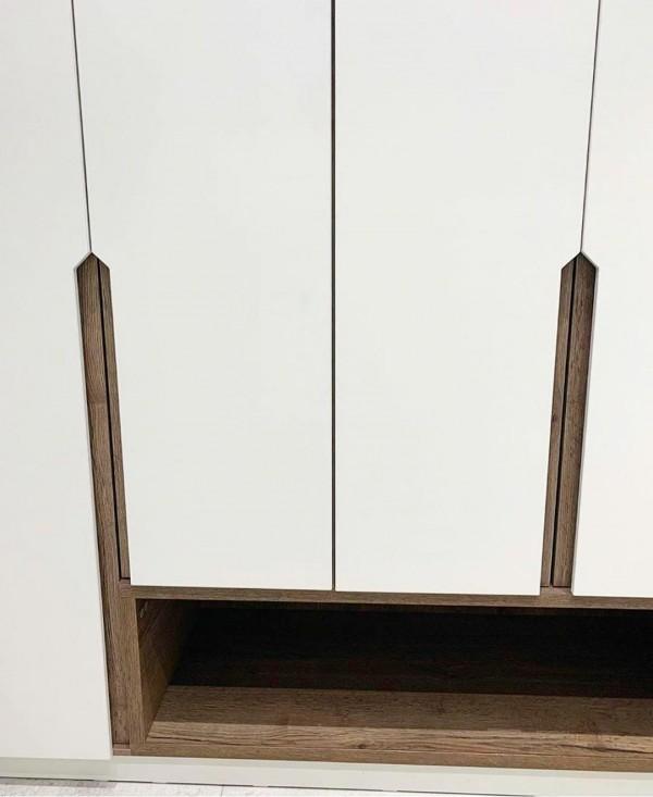 Распашной шкаф для прихожей № 161
