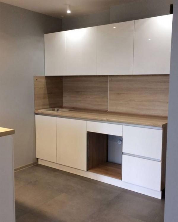 Кухня из крашеного МДФ №43