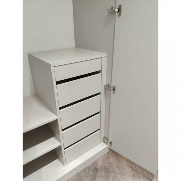 Распашной шкаф в спальню № 147