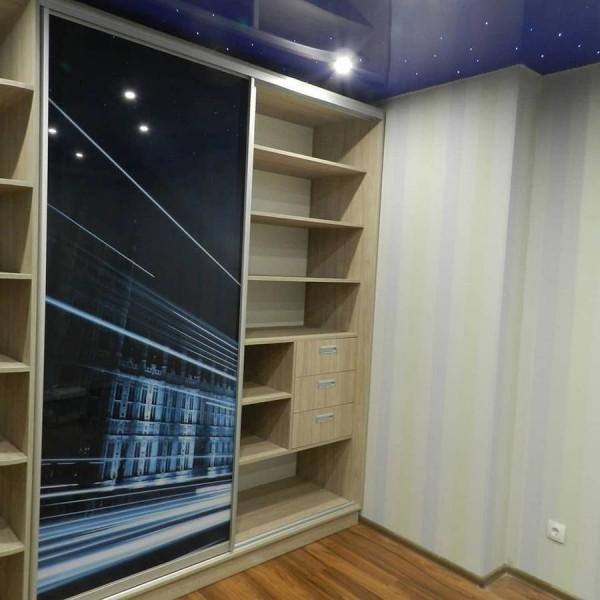 Встроеный шкаф-купе №06