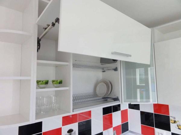 Кухня из пластика №126