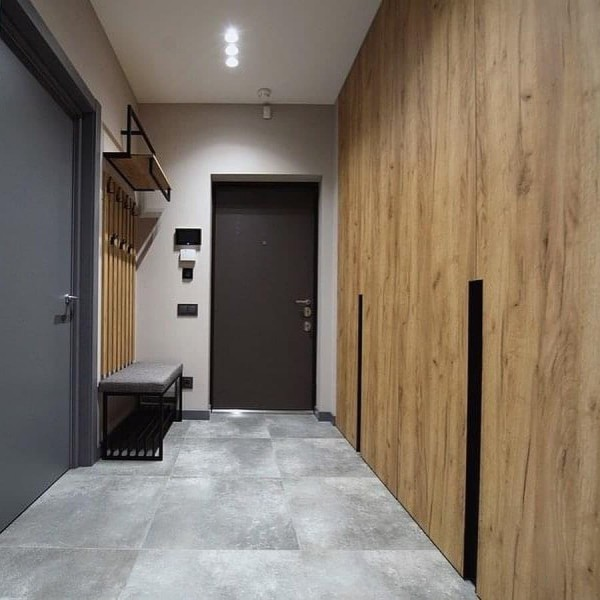 Распашной шкаф для прихожей № 153