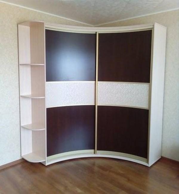 Радиусный шкаф-купе №18