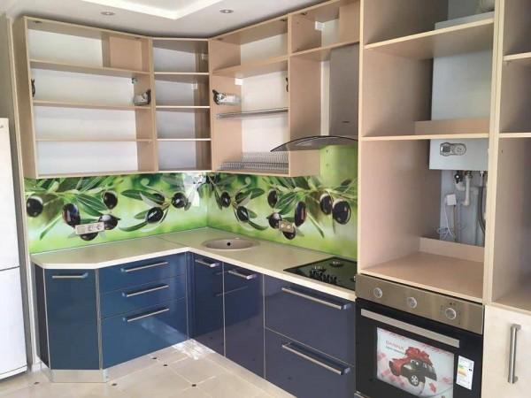 Кухня из пластика №131