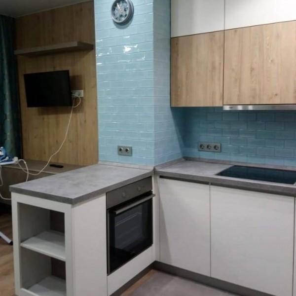 Кухня без ручек №12