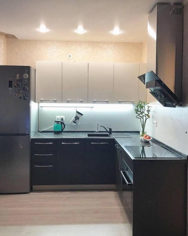 Кухня из пластика №132