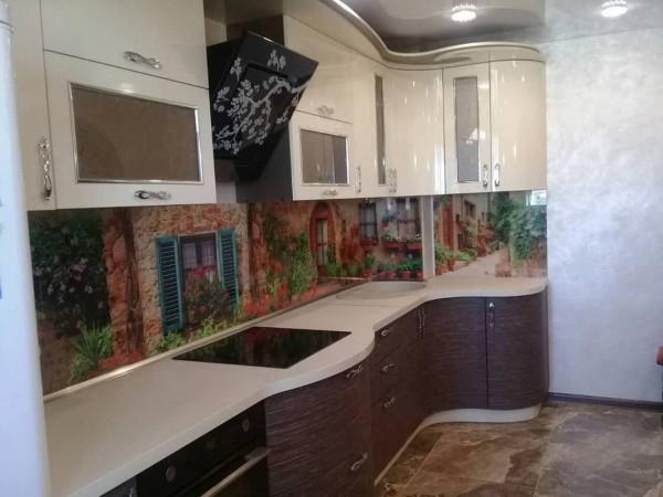 Кухня из пластика №130