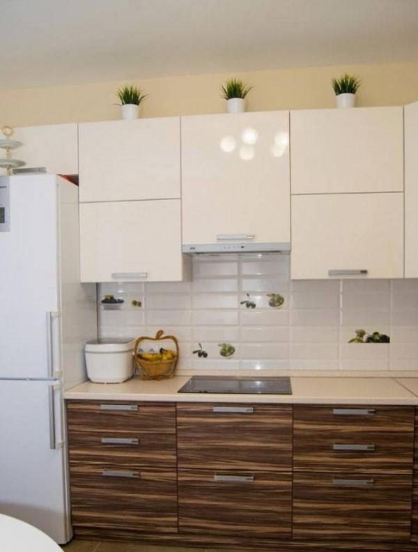 Кухня из пластика №127