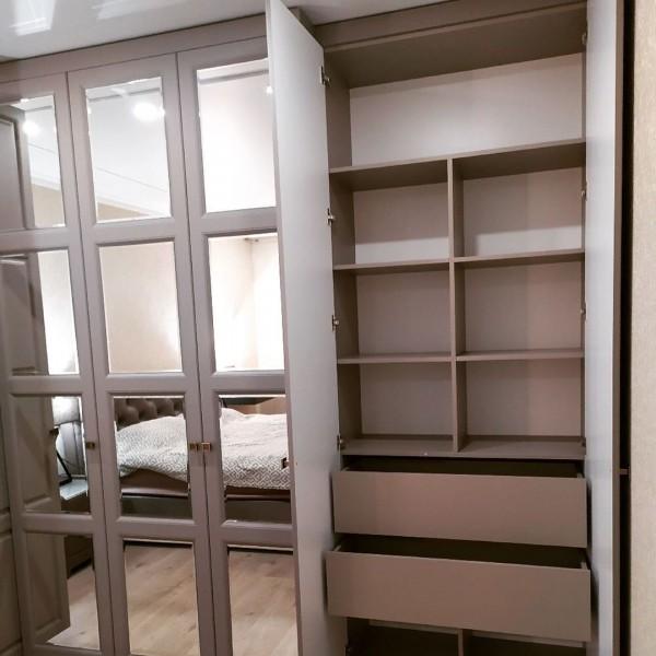 Шкаф-купе в спальню № 166