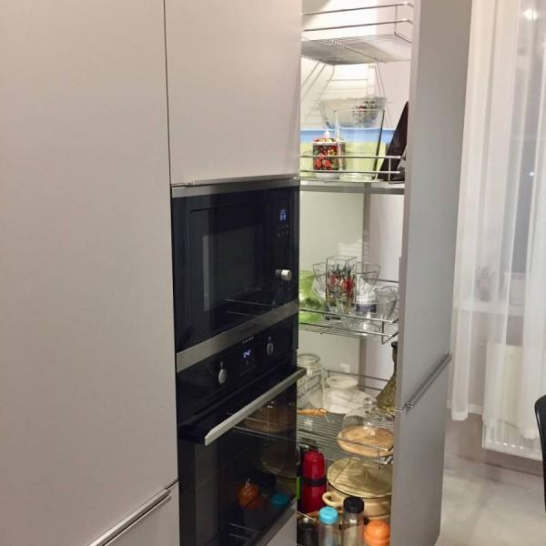 Кухня без ручек №14