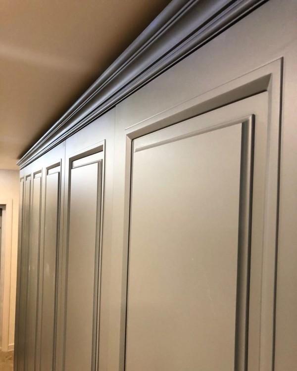 Распашной шкаф для прихожей № 142