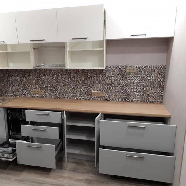 Кухня из пластика Феникс №113