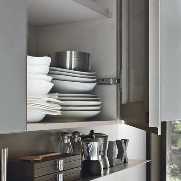 Кухня из пластика №143