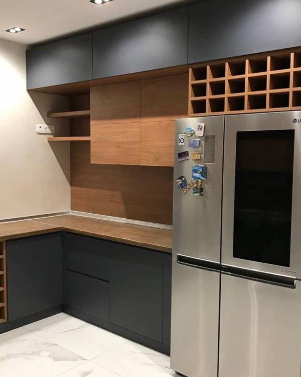Кухня из пластика Феникс №114