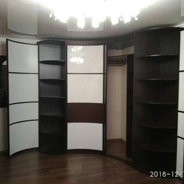 Радиусный шкаф-купе №23