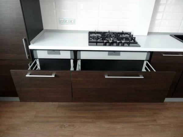 Кухня из пластика №133