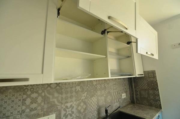 Кухня из крашеного МДФ №45