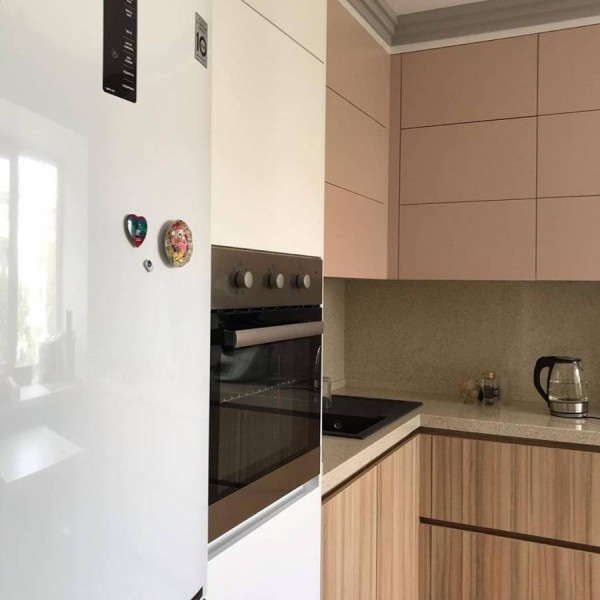 Кухня из пластика Феникс №117